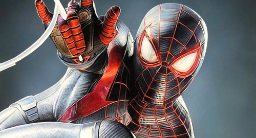 Dibujando a Spider-Man: Miles Morales – Time-Lapse + Real-Time