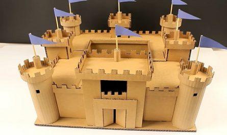 Manualidades, Tutorial, cómo se hace, Cómo funciona, Muy Fácil, Con medidas, de cartón, cardboard, de papel, doblar, origami, papiroflexia, Hacer Juguetes, CASTILLO de BODIAM, ir Edward Dallyngrigge, Eduardo III, Ricardo II