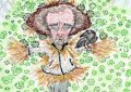 cómic, viñeta, dibujo, tebeo, historieta, arte, caricatura, rincón julia, Rabiosa Actualidad, Radiaciones Comiqueras, Cómic Digital, Desescalada, coronavirus, covid-19, Gestión Escasa, Gestión Tardía, cuarentena, confinamiento, mascarilla, test covid, epidemia, pandemia, Toque de Queda, Aforos Limitados, Niño de la Curva, Fernando Simón, epidemia, peste, epizootia, endemia, contagio, plaga, azote, oleada, ola, avalancha, racomic.com, Fernando Simón Soria, médico epidemiólogo español, director Centro Coordinación Alertas y Emergencias Sanitarias, Ministerio de Sanidad, hombre de paja, EspantaCovid, Espantapájaros, canalmenorca.com