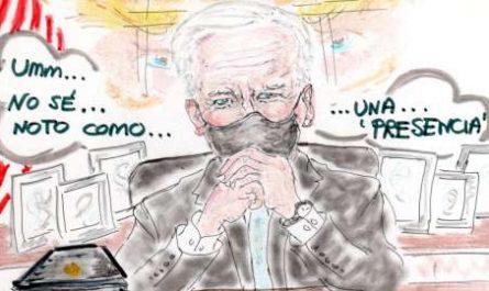 viñeta, dibujo, rincón julia, Rabiosa Actualidad, Radiaciones Comiqueras, Cómic Digital, Joe Biden, Presidente USA, Presidente EEUU, Estados Unidos, Casa Blanca, Donald Trump, Volveré de alguna forma, Volveré de alguna manera, canalmenorca.com