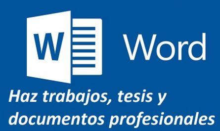 Utilidad, Aplicación, Manual, Tutorial, Programa, Herramienta, Informática, Ordenador, Computadora, Portátil, Sistema Operativo, Trucos, Gratuíto, Cómo se usa, Cómo se hace, Cómo funciona, canalmenorca.com, Microsoft Word, paquete ofimático, Microsoft Office, Documentos profesionales, Trabajos y Tesis, Edición Documentos,