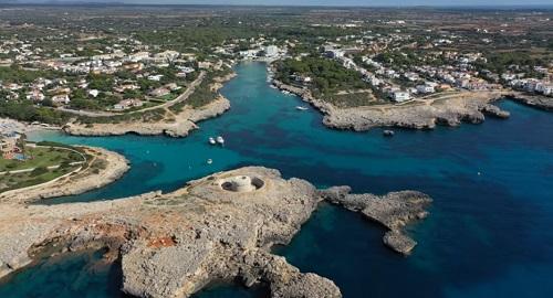 Cala Santandria, Ciudadela, Menorca
