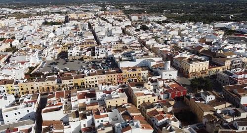 Ciutadella de Menorca desde el aire