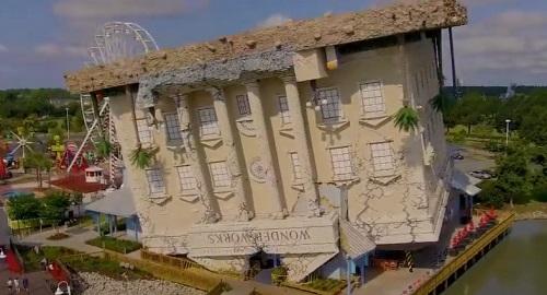 WonderWorks, el edificio «boca abajo» de Orlando