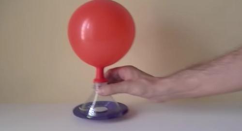 AERODESLIZADOR casero de juguete