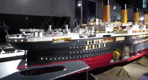 La MAQUETA del TITANIC más Grande del Mundo