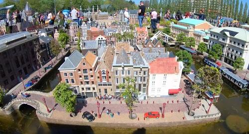 MADURODAM la ciudad en Miniatura de La Haya, Paises Bajos