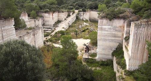 CANTERA «Pedrera» de ALCAUFAR de SA CALA, San Luis, Menorca