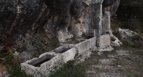 Espectacular ALJIBE y canalizaciones Es Migjorn Gran, Menorca