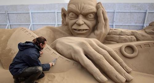 Las Esculturas de ARENA de PLAYA Más Geniales del Mundo