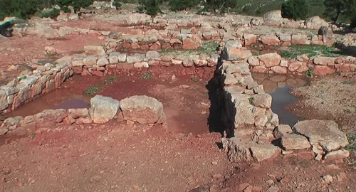 SANISERA ciudad romana en Sa Nitja, Es Mercadal, Menorca