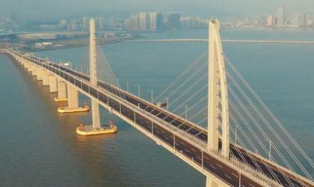 Vídeos increíbles, lugares maravillosos, naturaleza, viajar, explorar, aventura, Cómo llegar, Dónde está, Canalmenorca.com, Hong Kong, China, Zhuhai, Macao, PUENTE Hong Kong, río Pearl, Puente Atirantado, Túnel Submarino, China