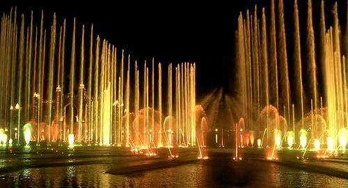 The Palm Fountain, La Fuente más grande del Mundo, Dubai