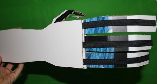 Manualidades, Tutorial, cómo se hace, Cómo funciona, Muy Fácil, Con medidas, de cartón, cardboard, de papel, doblar, origami, papiroflexia, Hacer Juguetes, Mano Robótica, Robot, Androide, autómata, canalmenorca.com