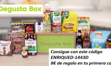 Menorca, Publicidad, Degustabox, 8€ de regalo, Cajas Sorpresa, Cajas de Regalo, productos sorprendentes, ahorro, regalo, calidad
