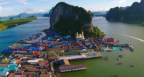 KO PANYI, el Pueblo de Pescadores construido sobre Pilares