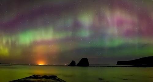Las AURORAS BOREALES de Islandia