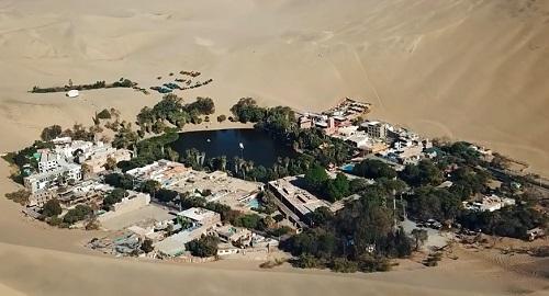 OASIS de HUACACHINA, Desierto de Perú