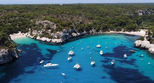 Playas de Macarella y Macarelleta, Ciutadella, Menorca