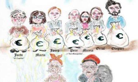 Menorca, bosquejo, croquis, esquema, boceto, esbozo, ilustración, pintura, retrato, viñeta, dibujo, rincón julia, Rabiosa Actualidad, Radiaciones Comiqueras, Catalunya, Clan Pujoles, Fiscalía Anticorrupción, El Capeñllán, Madre Superiora, Molt Honorable, Monaguillo, Jordi Pujol hijo, Marta Pujol, Josep Pujol, Pere Pujol, Mireia Pujol, Oriol Pujol, Oleguer Pujol, Jordi Pujol padre, Marta Ferrusola