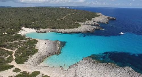Menorca, Playa d'es Banyul, Bellavista, Punta des Pinar y Cala des Talaier