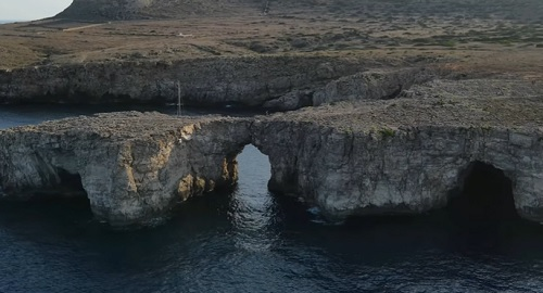 Asombroso Pont D´en Gil, Menorca