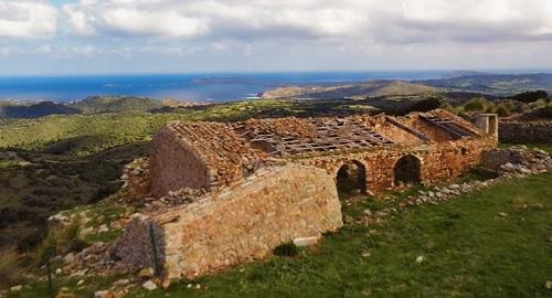 CASTILLO de SANTA ÁGUEDA, Ferreries, Menorca