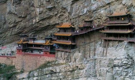 Vídeos increíbles, lugares maravillosos, naturaleza, viajar, explorar, aventura, Cómo llegar, Dónde está, Canalmenorca.com, Templo COLGANTE de XUANKONG, Shanxi, China, XUANKONG, Budismo, Taoísmo, Confucianismo, Montaña Shangshen, Liao Ran