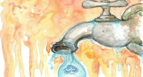 ¡No malgastemos el agua…!