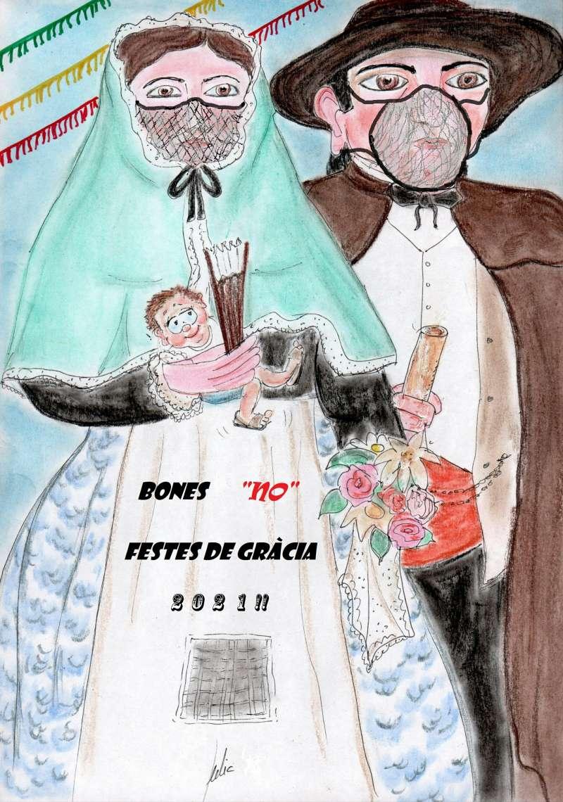 cómic, viñeta, dibujo, tebeo, historieta, arte, caricatura, rincón julia, Rabiosa Actualidad, Radiaciones Comiqueras, Cómic Digital, Festes de Gràcia, Festes de Maó, Mahón, Cap i Seny, Bones Festes,