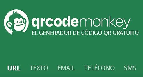 QRCode Monkey, Generador de código QR Online Gratuito